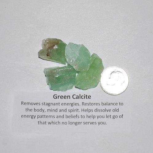 Calcite - Green Rough
