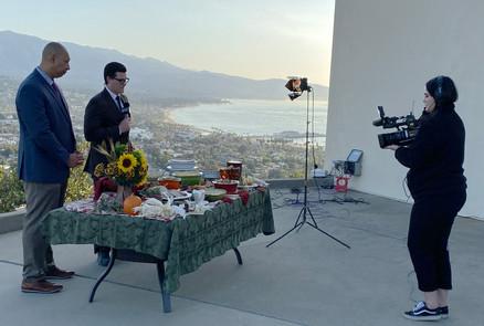 Cracker Barrel; KEYT morning show segment