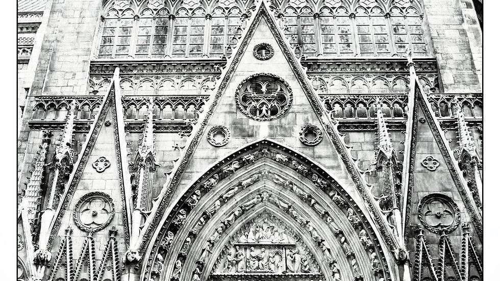 Notre Dame Red Door - SPOT Colored