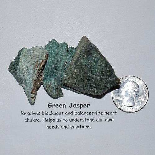 Jasper - Green Rough