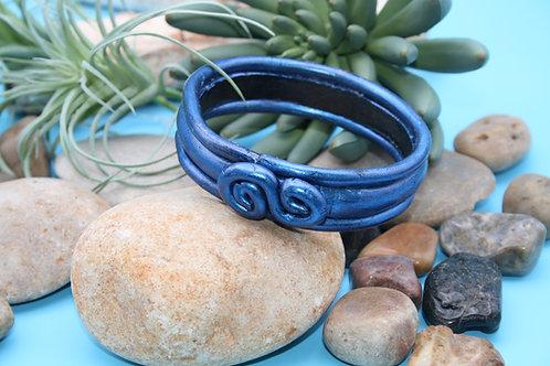 Midnight Blue Bangle Bracelet