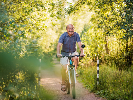 The Benefits Of Cycling For Seniors Living with Arthritis