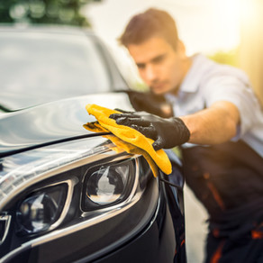Top Off Your Clean Property with a Clean Car