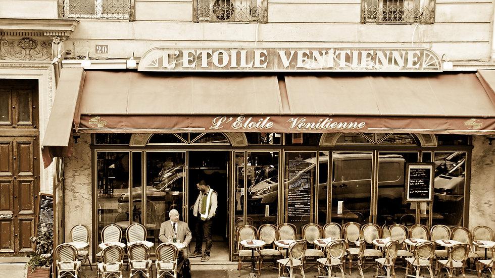 Vintage Paris Cafe