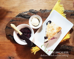 Connie's Rawsome Kitchen - Most Delicious Blueberry Scones