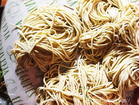 Homemade Ramen Noodles!