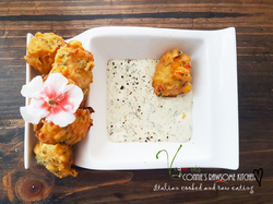 hush puppies and ranch dressing 1A