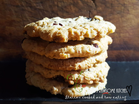 Yummy and Chewy - The World's Best Vegan Coconut Oatmeal Cookies Ever!