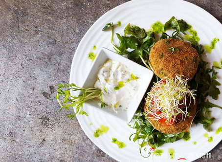 BEST VEGAN FRIED COD FISH CAKES