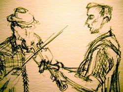 Jon and Jamie (detail)