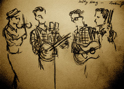 The Union Canal String Band playing The Henry Brothers' Old Time Music Revue