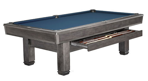 Bridgeport Billiards Table Graphite with