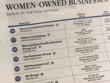 IEI ranks in Top Women-Owned Businesses