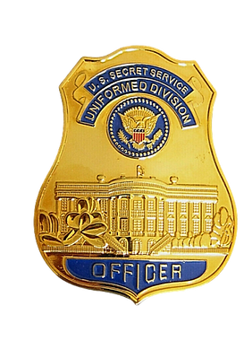 U.S Secret Service Badge no background c