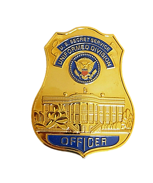 U.S Secret Service Badge no background c