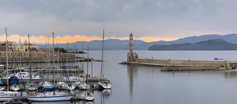 Still travelling-Egypt to Crete Greece