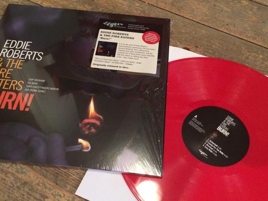 Re-press of Burn! Red Vinyl......