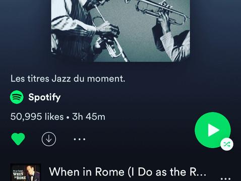 Spotify Jazz Playlist