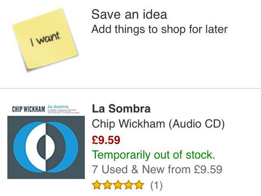 Second Pressing for La Sombra Vinyl