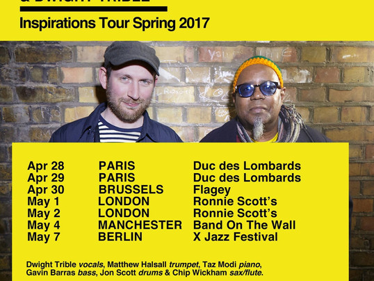 Tour Dates: Matthew Halsall & Dwight Trible