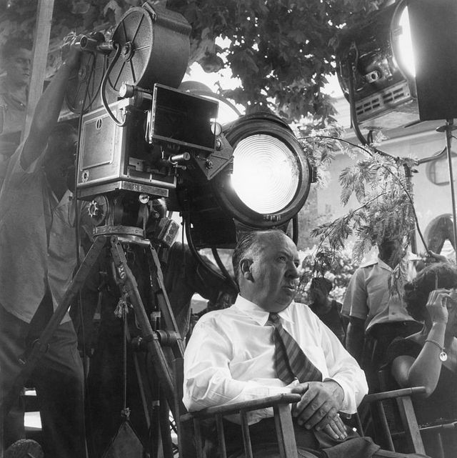 Alfred Hitchcock directing
