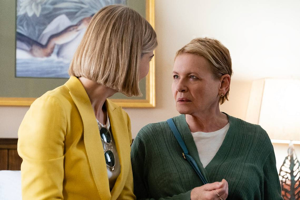 "Rosamund Pike and Diane Wiest in ""I Care A Lot"""