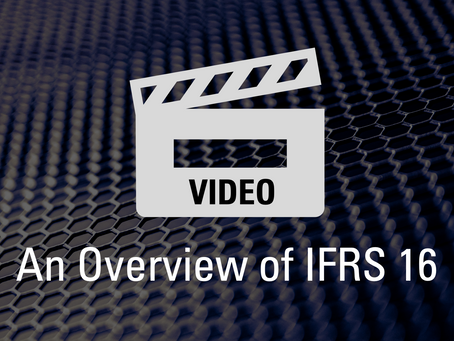VIDEO: An Overview of IFRS 16