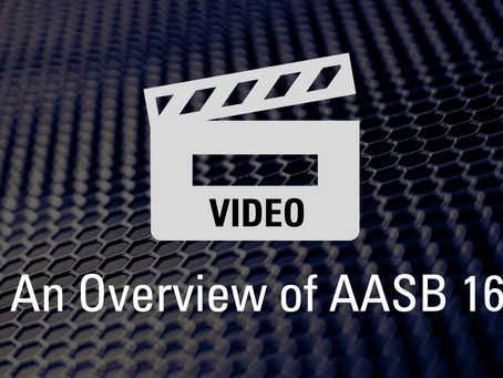 VIDEO: An Overview of AASB 16