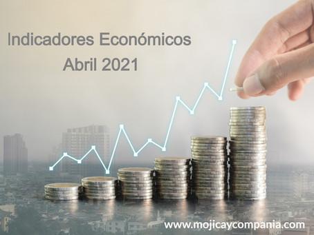 Indicadores Económicos Abril