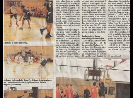 L'événement CTC de dimanche dernier dans le journal !