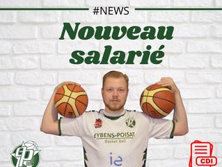 Bienvenue à Célian, notre nouveau salarié!
