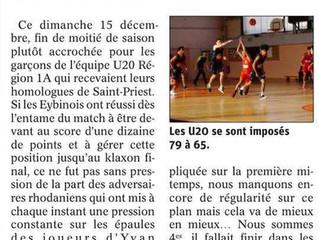 2 articles dans le Dauphiné