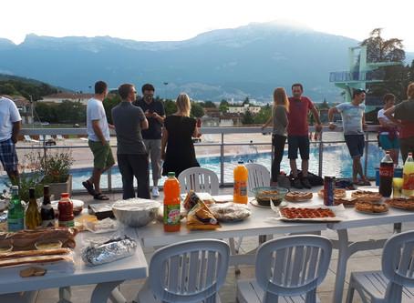 Fin d'année au BBCEP: soirée piscine