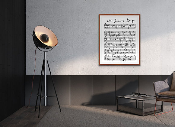My Favorite Song Digital Print