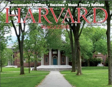 Harvard Magazine is featuring my biz in this months edition!!