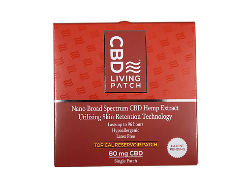 CBD Living Patches Set of 5
