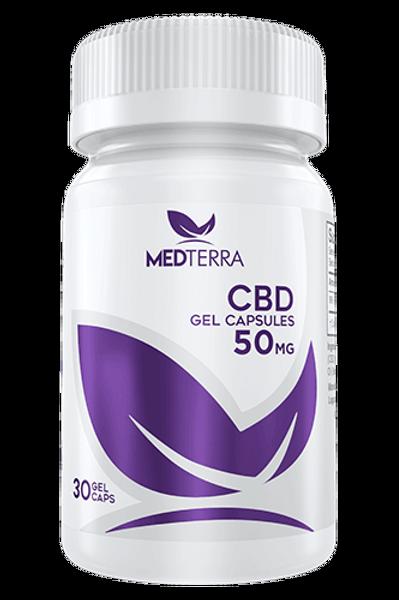 CBD Medterra Gel Caps 50mg