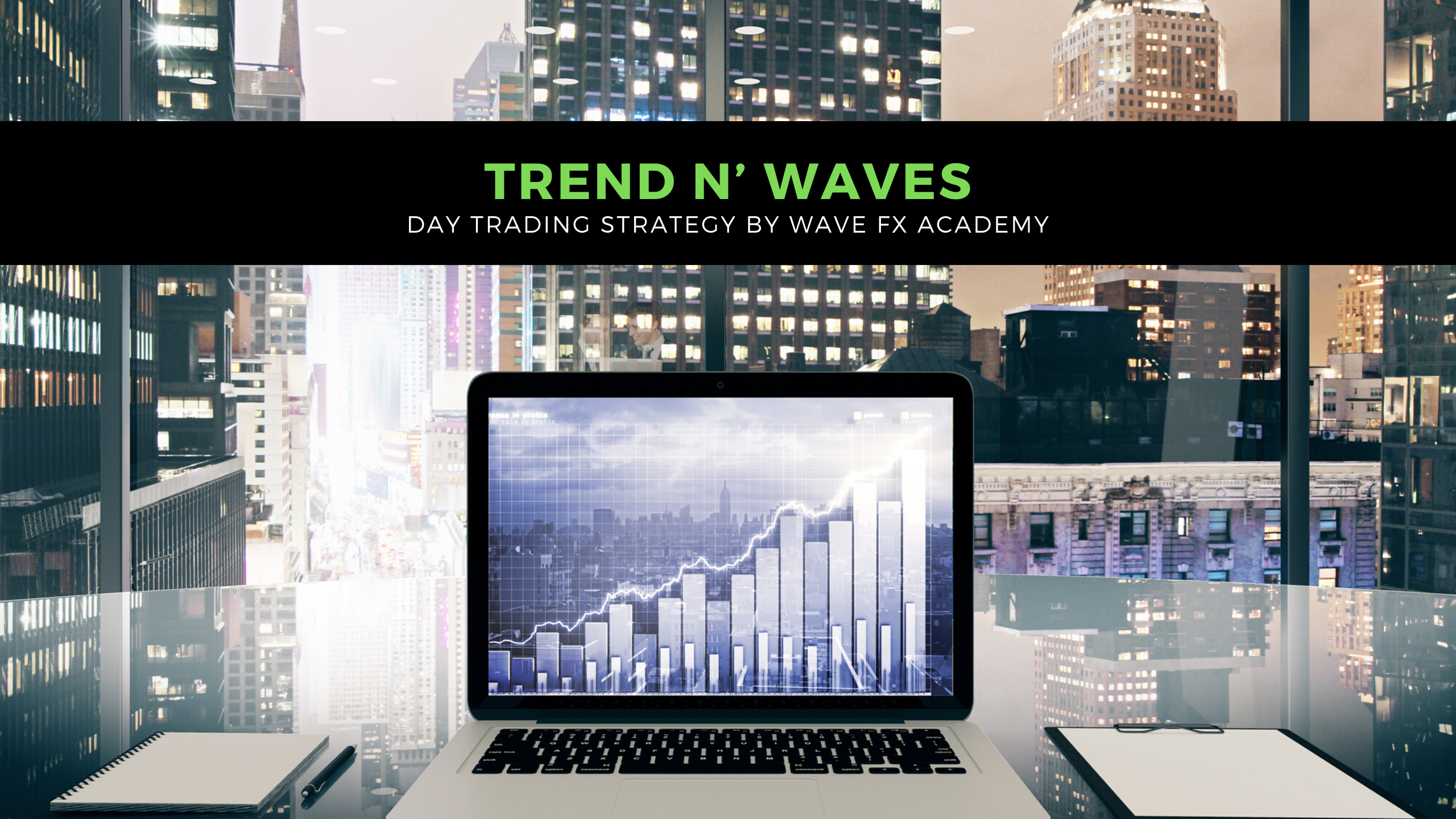 Trend N' Waves Day Trading Strategy