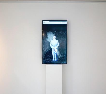 THE GIF CONNOISSEUR BOT [tribute] / Jacques Urbanska + Franck Soudan / connected installation