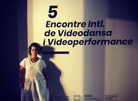 3 videos at International Meeting on Videodance and Videoperformance in Valencia