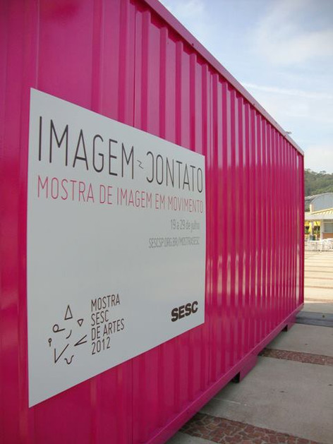 itinerant container during festival