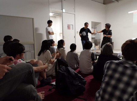 Artist talk at Tohoku University of Art and Design