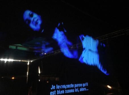 Video installation in Paris