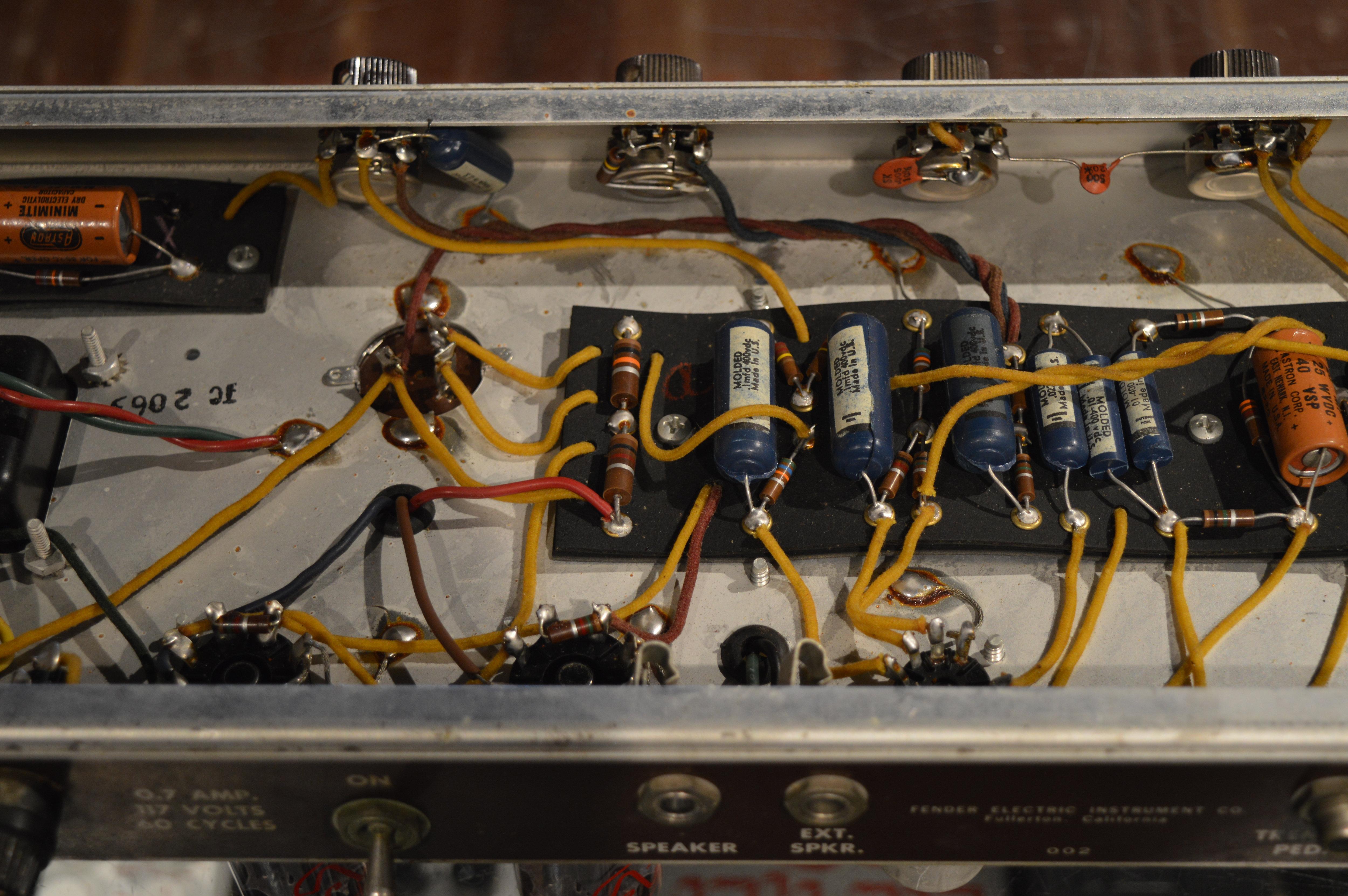 1961 Fender Princeton Amp   spindriftguitars