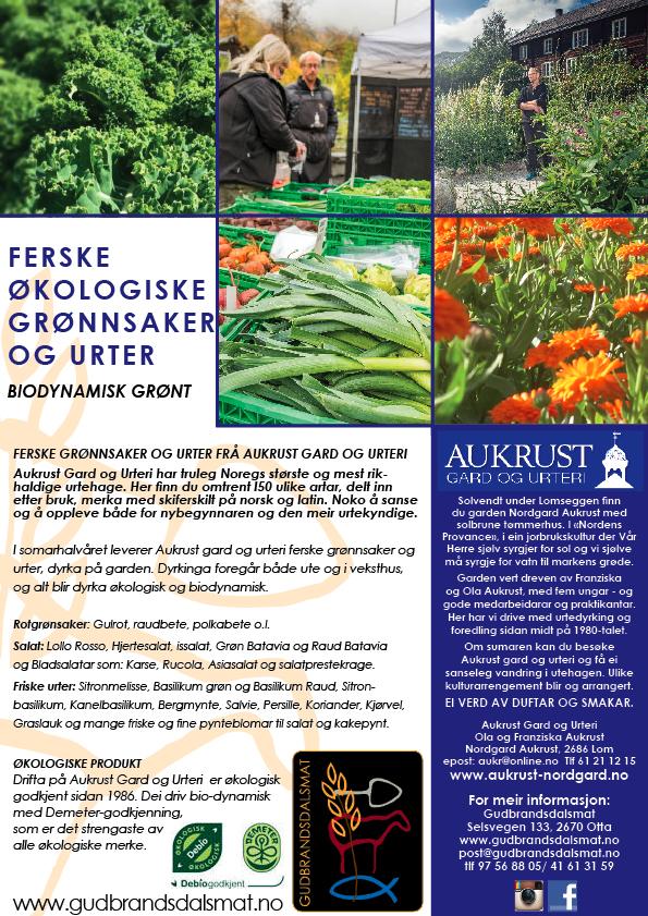 Aukrust grønnsaker og urter