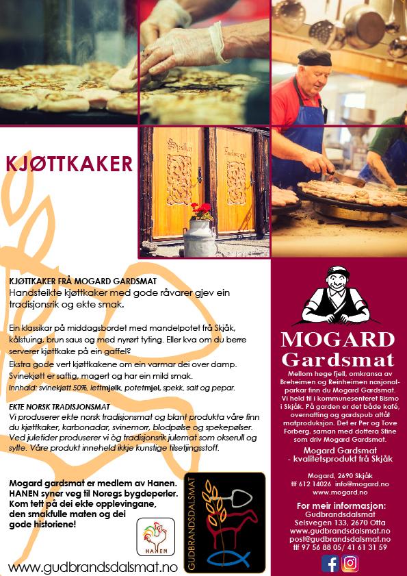 Kjøttkake fra Mogard