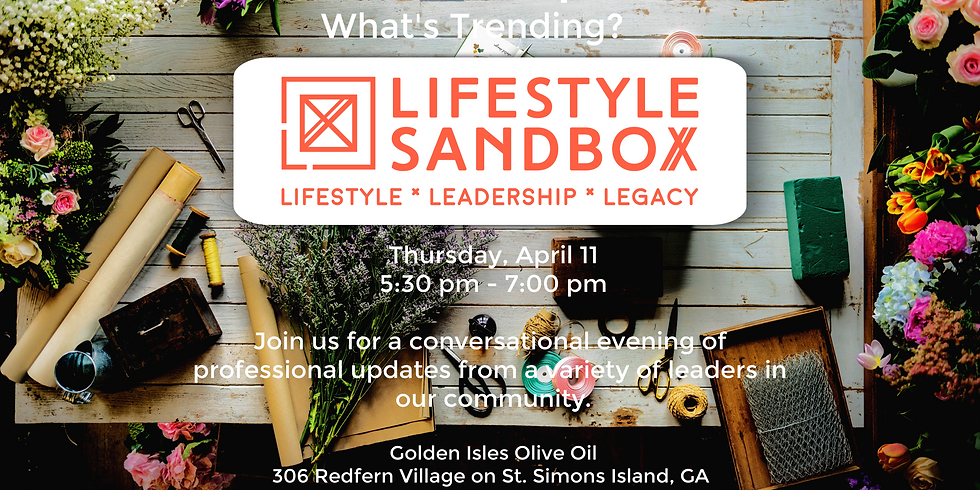 Professional Perspectives w/Lifestyle Sandbox