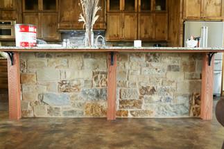 Kitchen Island Counter Posts