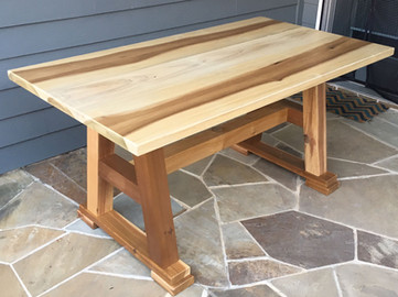 Patio Table with Bench