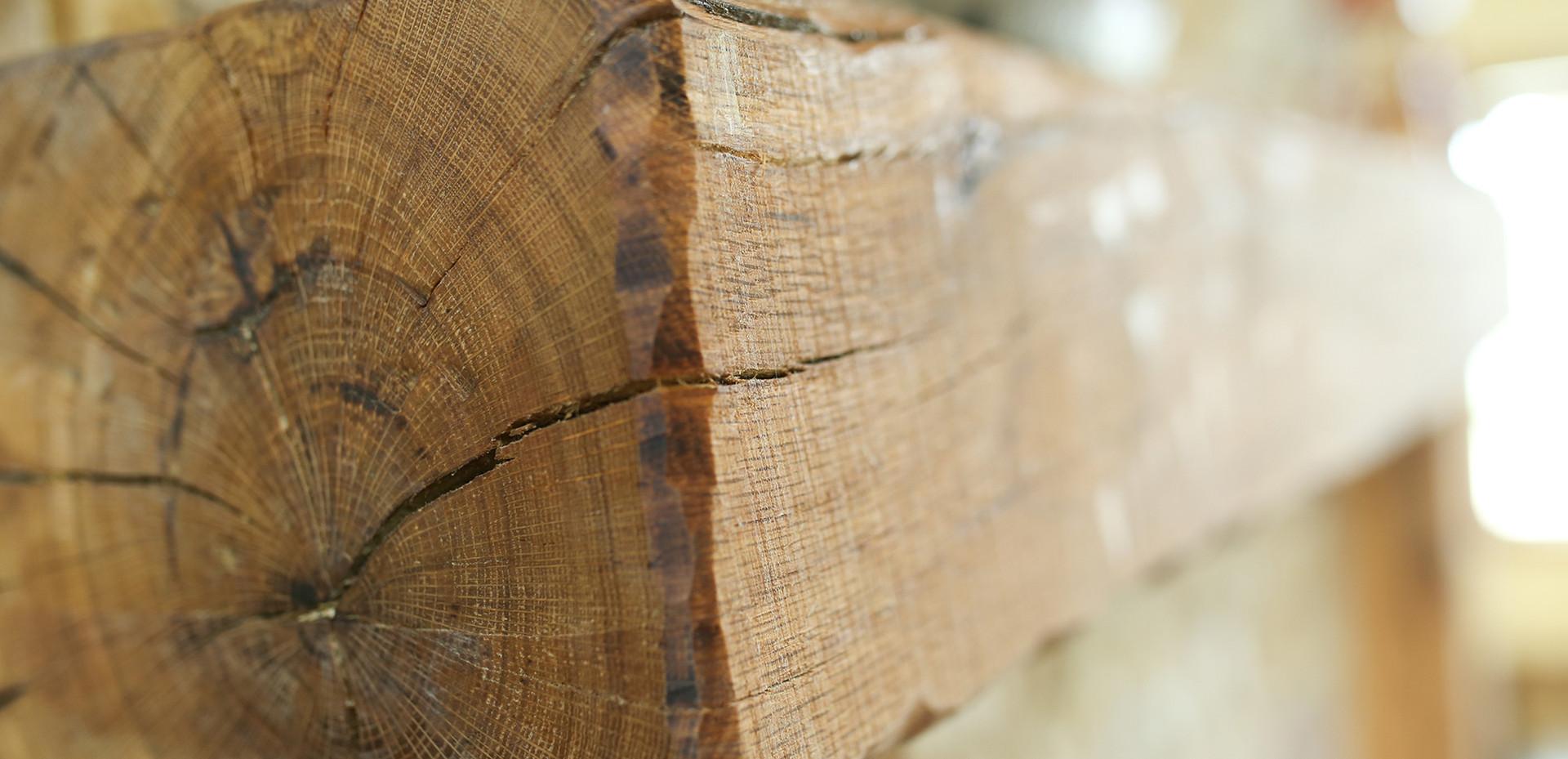 Post Oak Mantle Surround